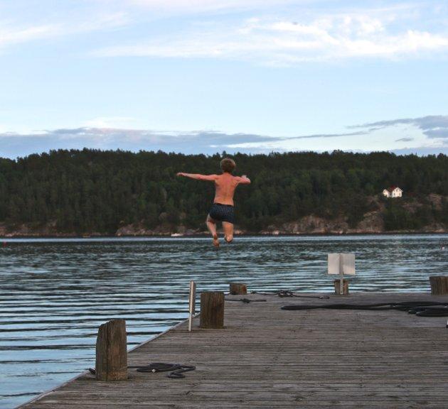 Håkon Ohlgren tar bomba i Sponvika