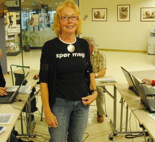 Trener data: May-Brith Solberg er leder for SeniorSurf.