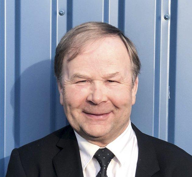 NR. 9: Hans Bernhard Sollie er 9.-kandidat på valglista til Øvre Eiker Høyre.