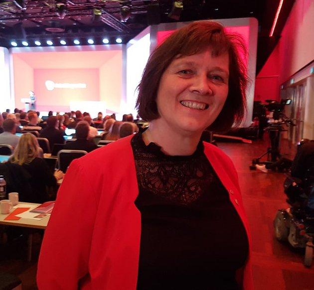 Leder for Finnmark Arbeiderparti, Kristina Hansen.
