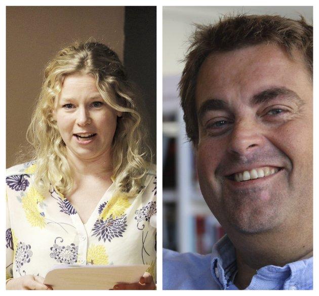 Julie Guttormsen og Espen Watne Andresen (MDG)