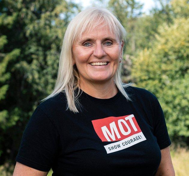 Mariann Janson, leder MOT Norge