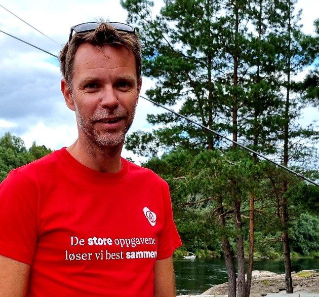 Oppfordrer til å bruke stemmeretten: Truls Vasvik, stortingskandidat Arbeiderpartiet, Vestfold