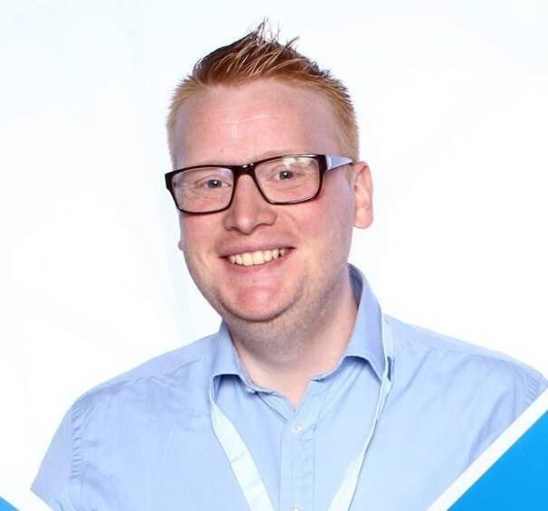 FREDRIK HOLM: Fredrik Holm er politisk gruppeleder i Halden Høyre.