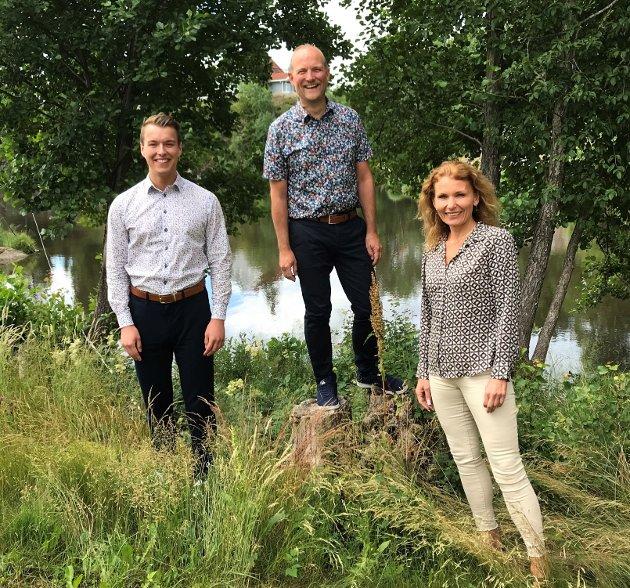 Østfold Senterpartis stortingskandidater sier nei til Viken og ja til Østfold.
