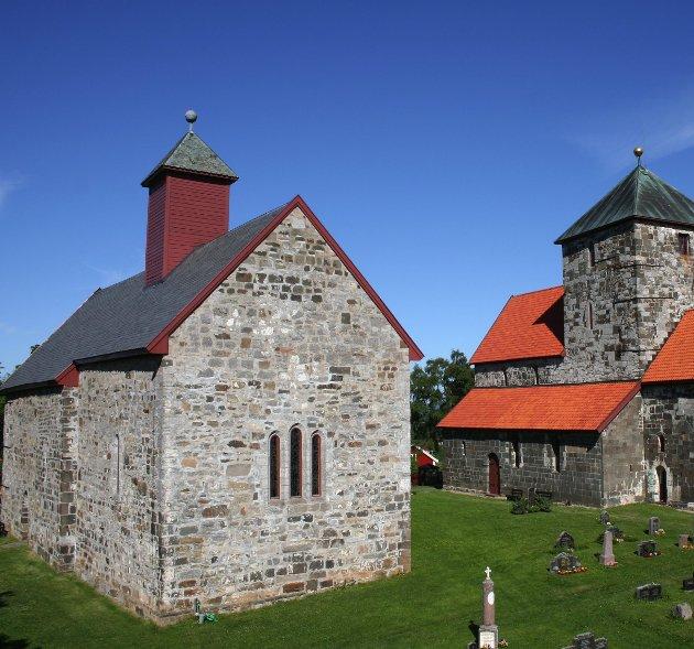 Arkivbilde; Søsterkirkene på Granavolen