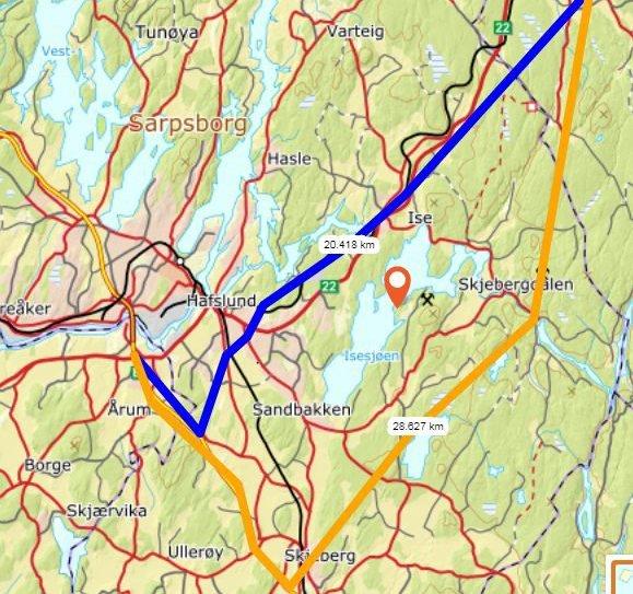 Ståle Solberg, gruppeleder i SaFoSa, frykter at det kan komme en motorvei fra Stasjonsbyen, via Tvetervannet og Børtevann og videre nordover.