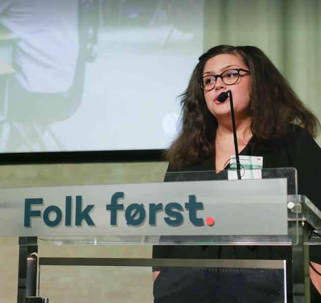 Celina Christoffersen, Innlandet Venstre sin Ungdomskandidat til Stortingsvalget