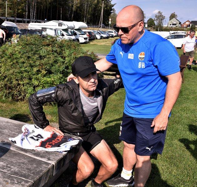 GIR FORTSATT GODE RÅD: Øyvind Hammer er fortsatt god å ha for Ole Einar Bjørndalen, selv om han har lagt opp.