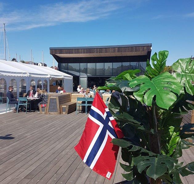 Utbyggingen av Kranaskjæret ble foretatt av Kranaskjæret AS som tiltakshaver, poengterer Kåre Bjarne Fure, styreleder i Kranaskjæret.