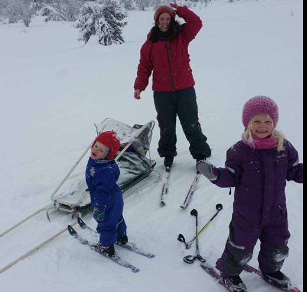 Ski, vinter og snø er ikke det beste Mari Persson vet.