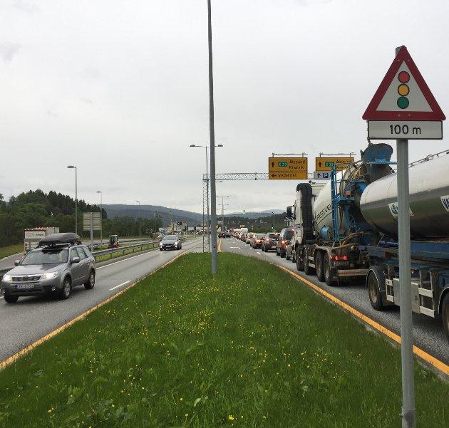 Det er gledeleg å sjå at Bergen held løftene sine og går inn for at E39 Vågsbotn-Klauvaneset skal prioriterast framfor E16 Vågsbotn - Indre Arna. Arkivfoto