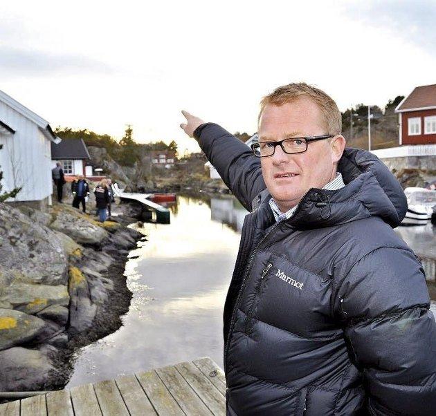 Trekker seg: I følge styret i Tvedestrand Høyre har Rune Hegstad blitt utsatt for noe som langt på vei må defineres som hets.Arkivfoto