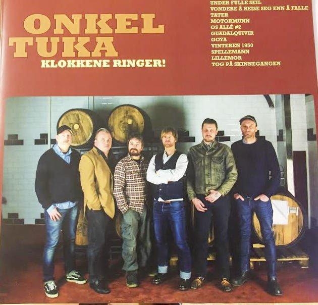 NY PLATE: Onkel Tuka har blitt et countryrockband. Hurra! Foto: coveret på plata