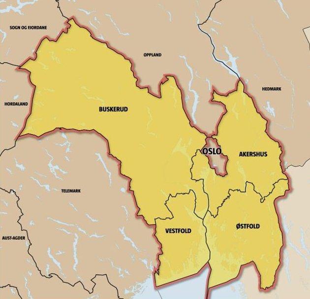 En god løsning: – Store deler av Akershus, Buskerud og Østfold henger sammen i bolig- og arbeidsmarkedet. Kommunikasjonene går inn mot Oslo. Derfor er det fornuftig og riktig å slå sammen disse fylkene
