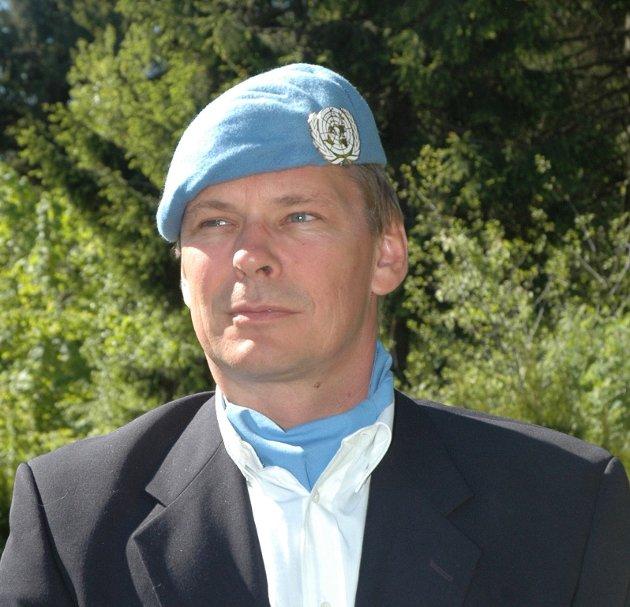 Dan-Viggo Bergtun fra Lillestrøm. Han er President i The World Veterans Federation, som knytter sammen over 60 millioner veteraner fra 142 land i arbeid for fred og velbefinnende for veteraner som har vært involvert i kriger og konflikter.