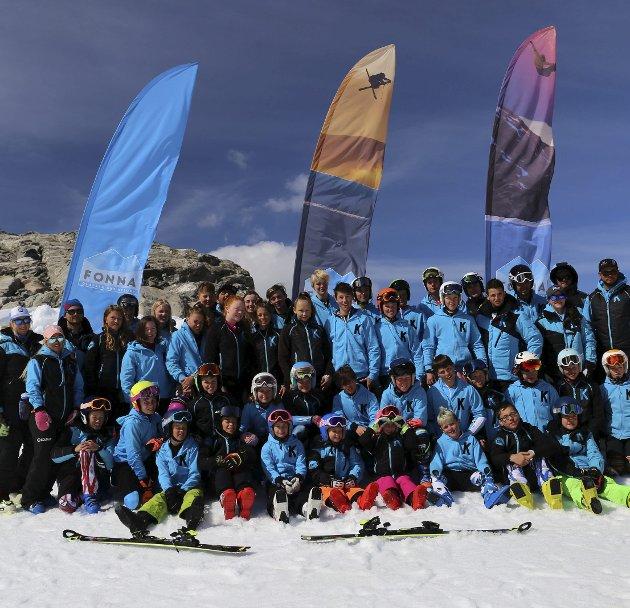 Kandahar Racing: Legg sommartreninga til Fonna Glacier Ski Resort. Foto: Ivan Dragan og Andreas Skogseth