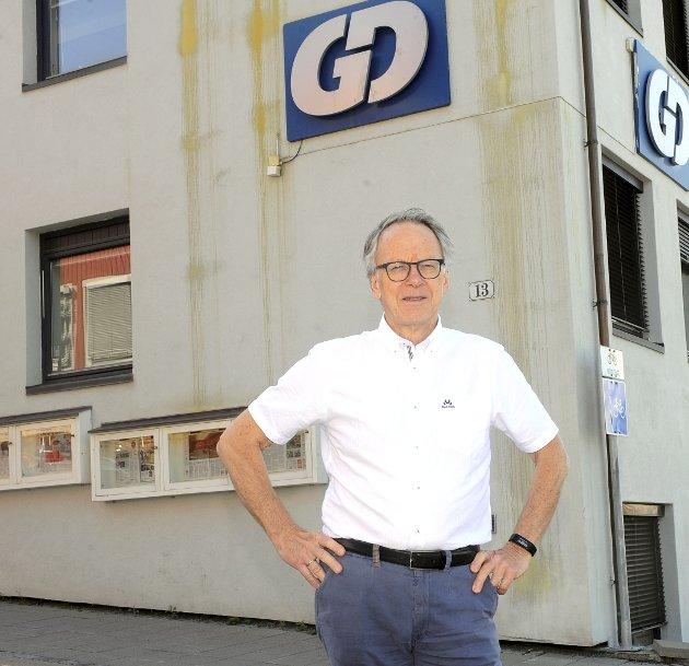 VERDIER Å UTVIKLE: GDs politiske redaktør Hallvard Grotli slutter etter å ha fulgt utviklingen i GD-distriktet siden 1980. Han mener Gudbrandsdalen og Lillehammer fortsatt vil være gjensidig avhengig av hverandre.