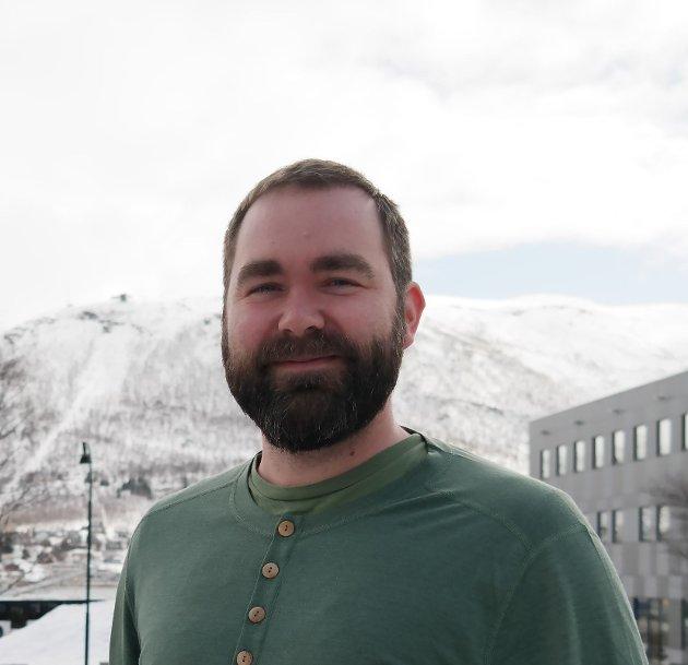 Lars Eirik Grotdal, leder i Harstad SV.