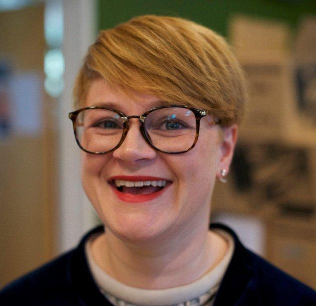 Mona Irene Auganæs er leiar NBF Møre og Romsdal.