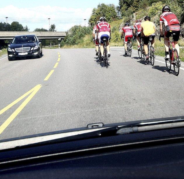 Ujevnt: Syklisten vi alltid være den tapende part i kampen mot bilen.