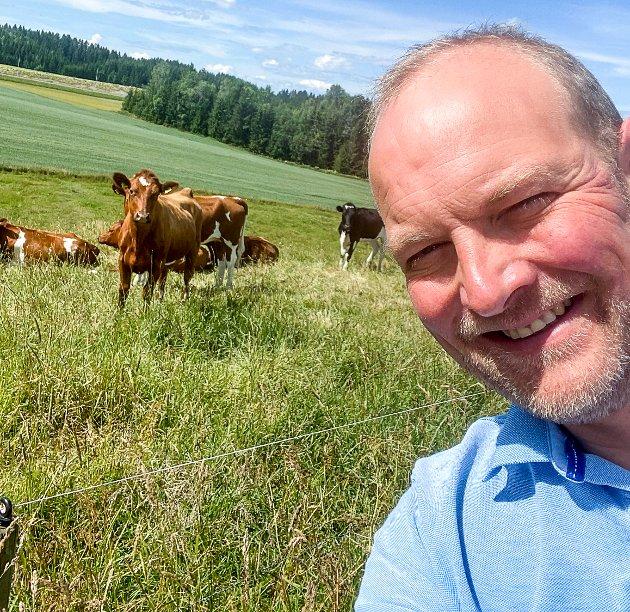 Ole André Myhrvold sitter på Stortinget for Senterpartiet og er tidligere ordfører i Trøgstad.