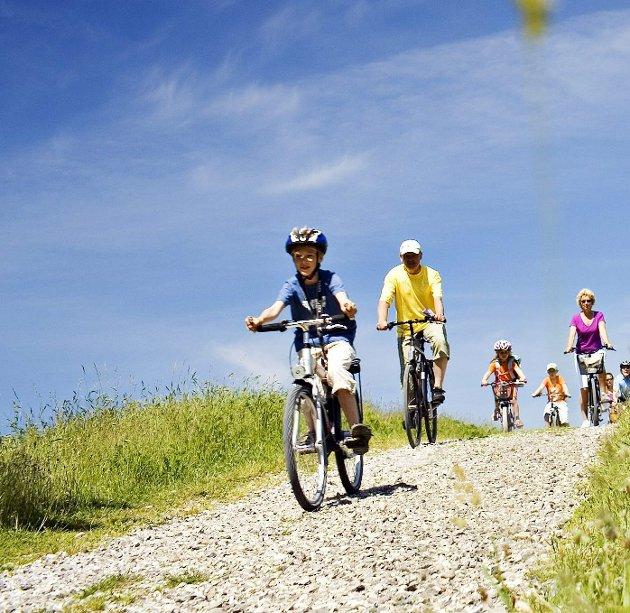 Trenger mer av dette: Sykkelstier.