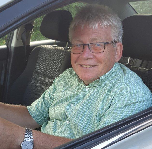 Jeg kan ikke med min beste vilje forstå hvorfor man trenger å ha det så travelt i trafikken, skriver Svein Otto Nilsen (Pp).