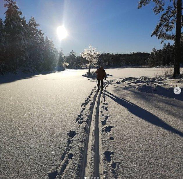 lilletoto: Hyttetur i Rakkestadfjella