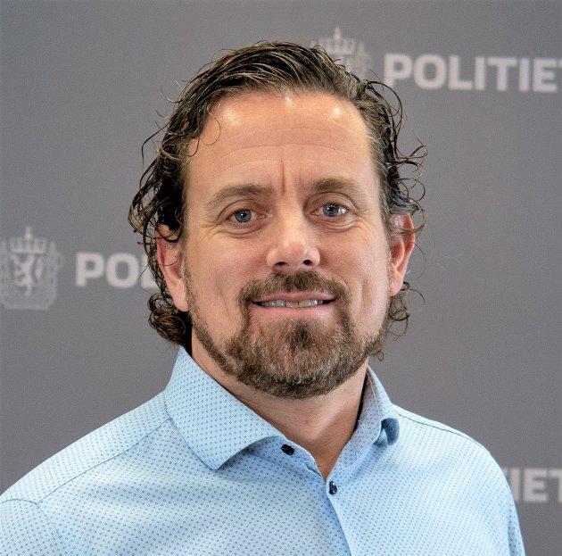 Bjørn Druglimo er hovedverneombud i Sør-Øst politidistrikt.