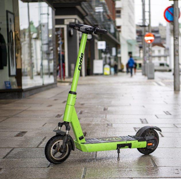Ryde er det eneste selskapet i Bergen som ikke er med på kommunens pilotprosjekt for utleie av el-løperhjul.