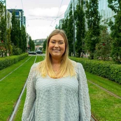 Julianne Ofstad, formann i Fremskrittspartiets ungdom i Viken