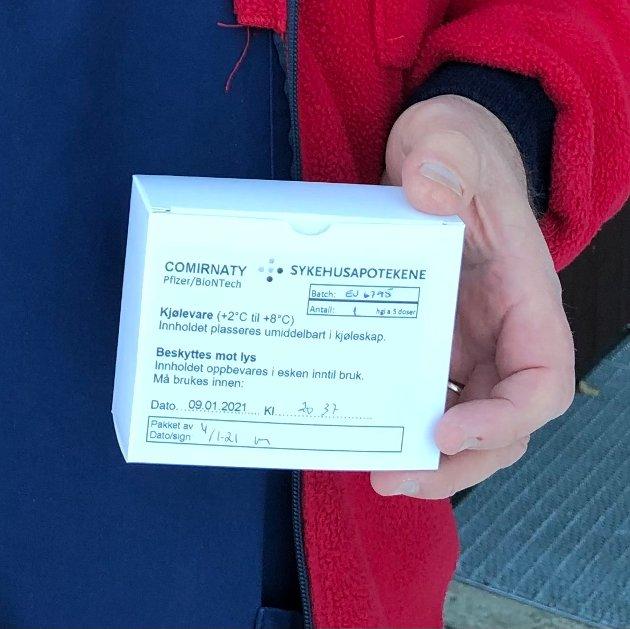Tilgang: Kommuneoverlegane i Valdres var ikkje informerte om at kommunane får tilsendt færre vaksingar.