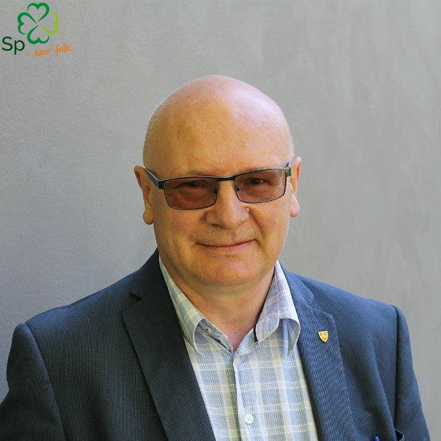 Steinar Aspli, gruppeleder Trøndelag Senterparti