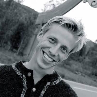 AMBASSADØR: Andreas Garnes Bergh ved Flokk er ambassadør for kampanjen «Norske bærekrefter» i regi av Norsk Industri.