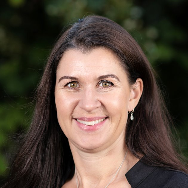 NY BANKSJEF: Heidi Nag Flikka (45) blir ny banksjef i Flekkefjord Sparebank. Det ser hun veldig frem til.