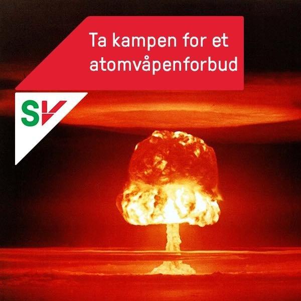 Støtt fredsprisvinneren og atomvåpenforbudet!