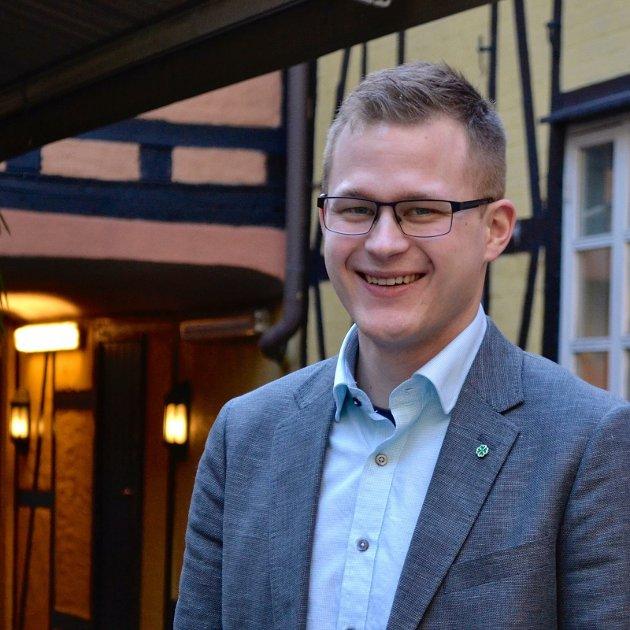 Kim André Haugen Schei er leder i Nordland Senterungdom.