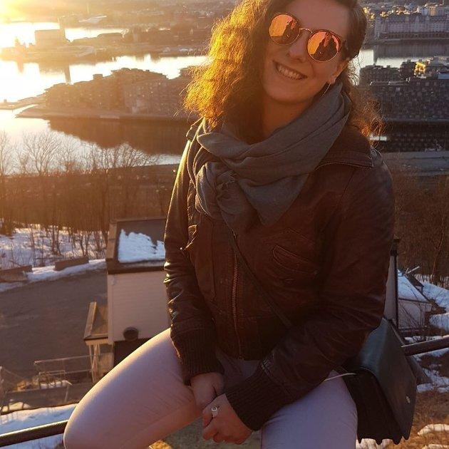 Astrid Aleksandra Hansen, masterstudent i tverrfaglige kjønnstudier, Oslo.