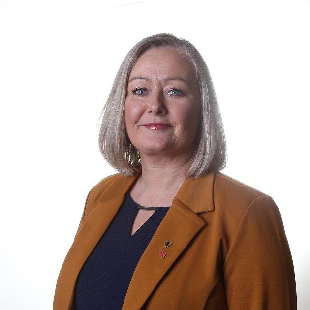 Mona Nilsen, leder Nordland Arbeiderparti og stortingskandidat.