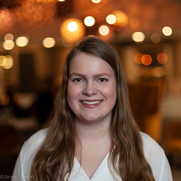 Vilde Sofie Nohr, ungdomskandidat for Nordland Venstre