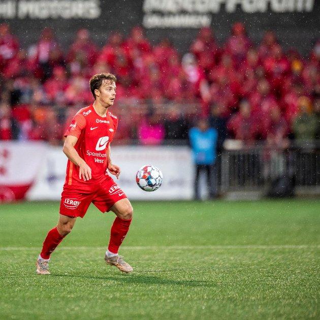 Felix Horn Myhres inntreden på høyrebacken har imponert Mathias Macody Lund.