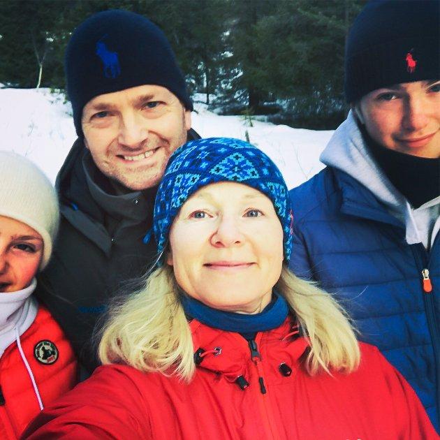 JULEFØLELSEN: Marit forteller at særlig i år snakker barna varmt om å dra til fjells.