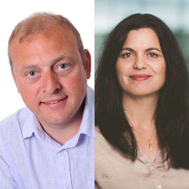 52 UKER: En permitteringsordning utvidet til 52 uker, er hva regiondirektør i NHO Viken Oslo Nina Solli og regionleder for LO i Viken og Oslo Ulf Lervik, ønsker  seg.