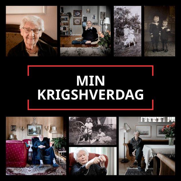 «Min krigshverdag» blir en unik reportasjeserie. I tidsrommet 9. april til 8. mai kan du daglig lese én ny historie om hvordan hverdagslivet artet seg i Fredrikstad-distriktet under andre verdenskrig.