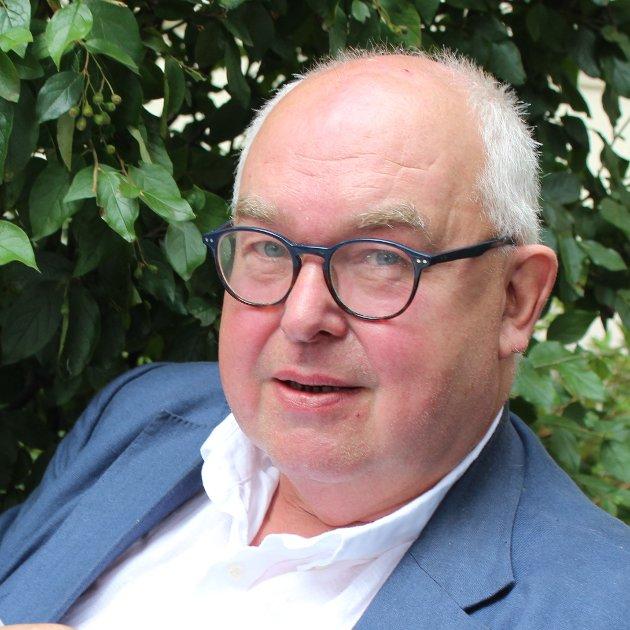 Trond Vernegg, formann i Riksmålsforbundet