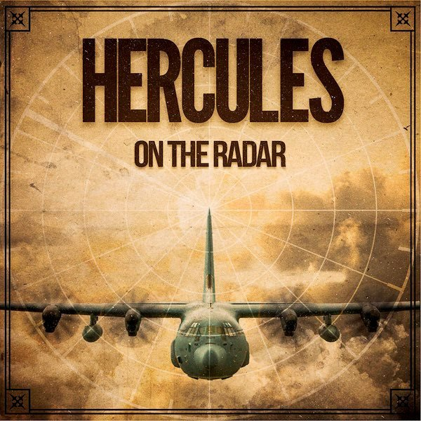 "Plate  Hercules  ""On the radar"""