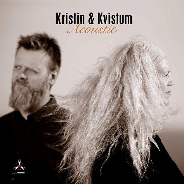 """NY CD: Kristin Sevaldsen og Lars Andre Kvistum ga nylig ut albumet """"Acoustic""""."""