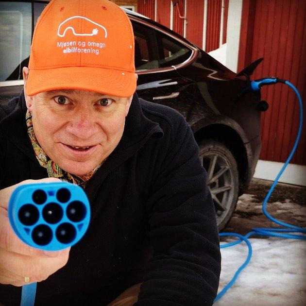 Artikkelforfatteren ønsker flere elbiler i Innlandet