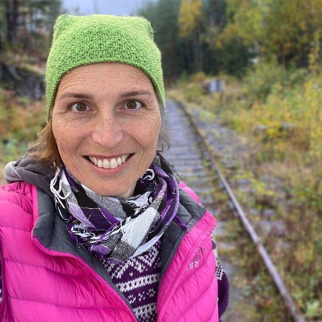 Karina Ødegård, Stortingskandidat for Miljøpartiet de Grønne.